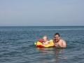 купание с папой