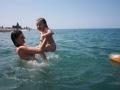 купание с мамой